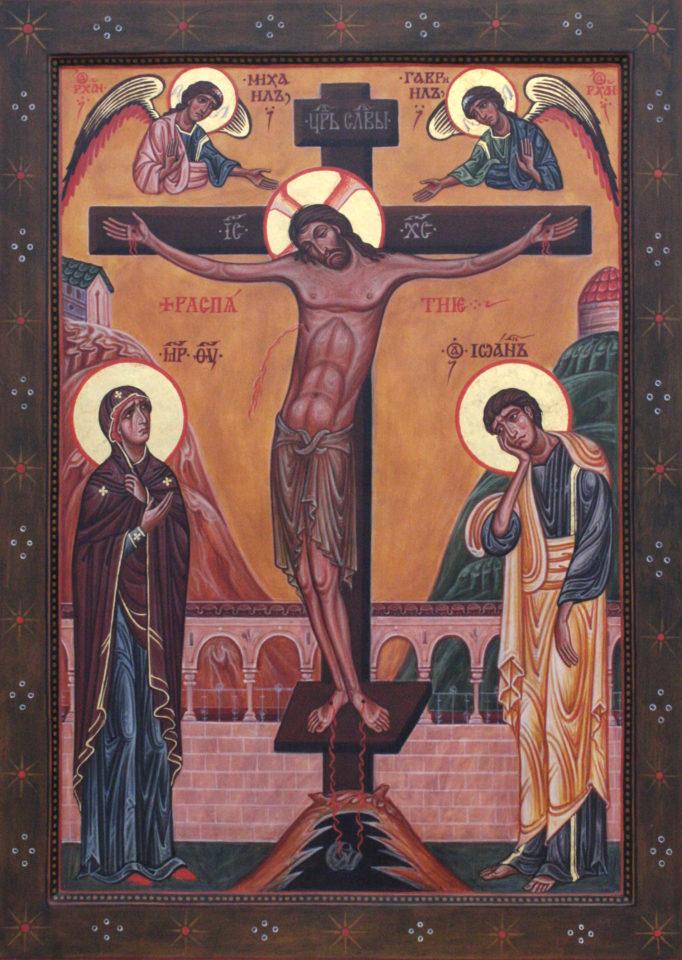 Kristus ristillä -ikoni